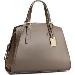 Torebka CREOLE - RBI10135 Ciemny Beż. Brązowe torebki klasyczne damskie Creole, ze skóry, duże. W wyprzedaży za 259,00 zł.