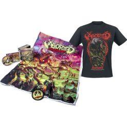Aborted TerrorVision CD + T-Shirt standard. Brązowe t-shirty damskie Aborted, l, z aplikacjami, z bawełny. Za 149,90 zł.