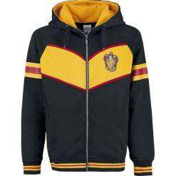 Harry Potter Gryffindor Bluza z kapturem rozpinana szary/żółty. Szare bluzy męskie rozpinane Harry Potter, xl, z aplikacjami, z kapturem. Za 144,90 zł.