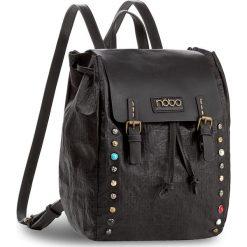 Plecak NOBO - NBAG-D3350-C020  Czarny. Czarne plecaki damskie marki Nobo, ze skóry ekologicznej, klasyczne. W wyprzedaży za 139,00 zł.