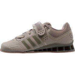 Adidas Performance ADIPOWER WEIGHTLIFT Obuwie treningowe trace cargo. Brązowe buty sportowe damskie marki adidas Performance, z gumy. Za 749,00 zł.