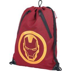 Iron Man Rubber Print Torba treningowa czerwony. Czerwone torebki klasyczne damskie Iron Man. Za 62,90 zł.