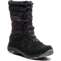 Śniegowce MERRELL - Approach Tall Ltr Wp J99128 Black. Czarne buty zimowe damskie Merrell, z materiału, na niskim obcasie. W wyprzedaży za 349,00 zł.