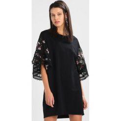 Sukienki hiszpanki: Navy London AMY  Sukienka z dżerseju black