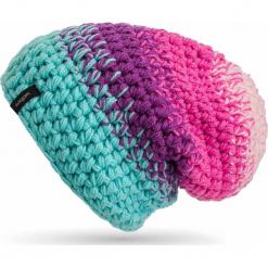 Czapka Ręcznie Robiona Unisex |Handmade| Błękitna Niwa Beanie -           -. Niebieskie czapki zimowe damskie Woox. Za 90,80 zł.