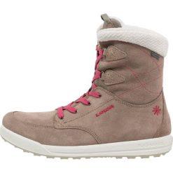 Lowa SAMARA GTX MID Śniegowce taupe/beere. Szare buty zimowe damskie Lowa, z materiału. W wyprzedaży za 539,25 zł.