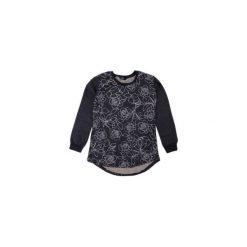 Bluzy rozpinane damskie: Bluza damska luźna z lamówkami, we wzory, w kwiaty sportowa