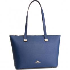 Torebka WITTCHEN - 87-4E-416-7 Granatowy. Niebieskie torebki klasyczne damskie Wittchen, ze skóry. W wyprzedaży za 419,00 zł.