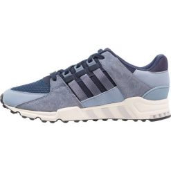 Adidas Originals EQT SUPPORT RF Tenisówki i Trampki collegiate navy/raw grey. Niebieskie tenisówki damskie adidas Originals, z materiału. W wyprzedaży za 349,30 zł.