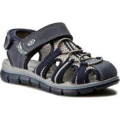 Sandały męskie: Sandały PRIMIGI - PTV 7 76532/00  Nab.Sto/Rete Al/Blu