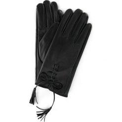 Rękawiczki damskie: Rękawiczki z eko skóry