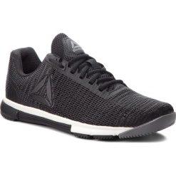 Buty Reebok - Speed Tr Flexweave CN5506 Shark/Black/Chalk. Niebieskie buty do fitnessu damskie marki Salomon, z gore-texu, na sznurówki, gore-tex. W wyprzedaży za 289,00 zł.