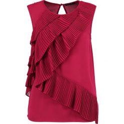 Bluzki asymetryczne: Sisley Bluzka pink