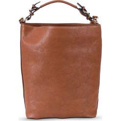 Torebka basic bonprix koniakowy. Brązowe torebki klasyczne damskie bonprix. Za 119,99 zł.