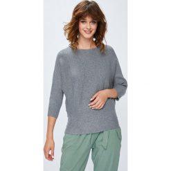 Medicine - Sweter Basic. Szare swetry klasyczne damskie marki MEDICINE, l, z dzianiny, z okrągłym kołnierzem. Za 89,90 zł.