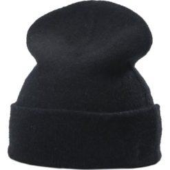 Czapki zimowe damskie: Polo Ralph Lauren CUFF HAT Czapka black