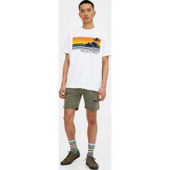 T-shirty męskie: Koszulka z wypukłymi palmami