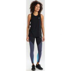 Nike Performance BREATHE TAILWIND TANK Koszulka sportowa black/reflective silv. Czarne t-shirty damskie Nike Performance, l, z bawełny. Za 139,00 zł.