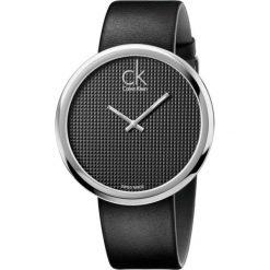 RABAT ZEGAREK CALVIN KLEIN SUBTLE BLACK. Czarne zegarki męskie Calvin Klein, szklane. W wyprzedaży za 679,00 zł.