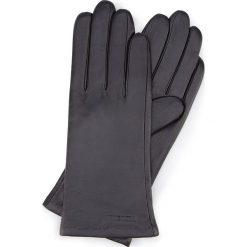 Rękawiczki damskie 44-6L-201-1. Czarne rękawiczki damskie Wittchen. Za 99,00 zł.