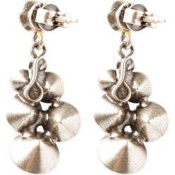 Biżuteria i zegarki: Konplott PETIT GLAMOUR Kolczyki grey