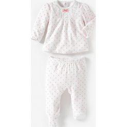 Bielizna dziewczęca: Piżama welurowa dwuczęściowa 0 miesięcy-3 lata
