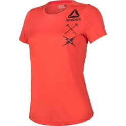 Reebok Koszulka damska treningowa Activchill Graphic Tee W pomarańczowa r. M (B45060). Topy sportowe damskie Reebok, m. Za 120,49 zł.