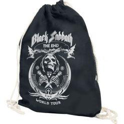 Black Sabbath The End Grim Reaper Torba treningowa czarny. Czarne torebki klasyczne damskie Black Sabbath, z nadrukiem, z nadrukiem. Za 54,90 zł.