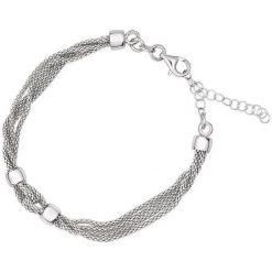 Bransoletki damskie: Piękna Bransoletka Srebrna – srebro 925