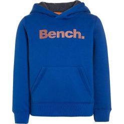 Bench CORE Bluza z kapturem dark blue. Niebieskie bluzy chłopięce rozpinane marki Bench, z bawełny, z kapturem. W wyprzedaży za 135,20 zł.