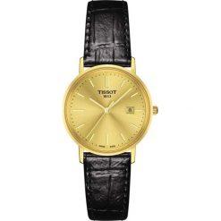 PROMOCJA ZEGAREK TISSOT GOLDRUN LADY T922.210.16.021.00. Żółte zegarki damskie TISSOT, złote. W wyprzedaży za 5042,40 zł.