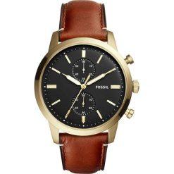 Fossil - Zegarek FS5338. Różowe zegarki męskie marki Fossil, szklane. Za 839,90 zł.