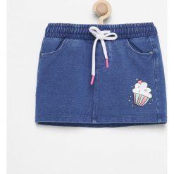 Odzież dziecięca: Krótka spódniczka - Niebieski