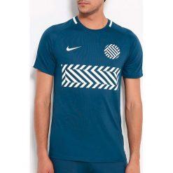 Nike Koszulka męska Boys' Dry Academy Football Top niebieska r. S (859936 425). Niebieskie t-shirty męskie Nike, m, do piłki nożnej. Za 69,00 zł.