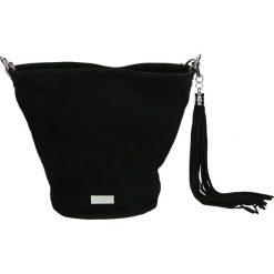 Torba - 4-147-O C NER. Szare torebki klasyczne damskie Venezia, ze skóry. Za 149,00 zł.