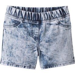 """Odzież dziecięca: Szorty dżinsowe """"moonwashed"""" bonprix niebieski batikowy """"bleached"""""""