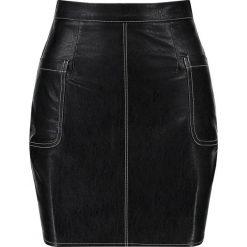 Spódniczki: Missguided OVER STITCH SKIRT Spódnica mini black