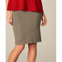 Spódniczki: Elegancka ołówkowa spódnica – Szary