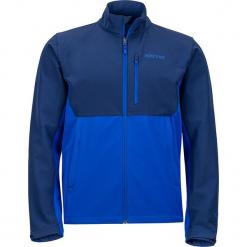 """Kurtka softshellowa """"Estes II"""" w kolorze niebieskim. Niebieskie kurtki męskie marki Marmot, m, z materiału. W wyprzedaży za 227,95 zł."""