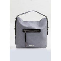 Shopper bag damskie: Torba z kieszenią