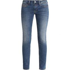 Replay LUZ PANTS Jeans Skinny Fit blue denim. Niebieskie jeansy damskie relaxed fit marki Replay. Za 499,00 zł.