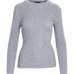 Szary Sweter Reasonableness. Niebieskie swetry klasyczne damskie marki ARTENGO, z elastanu, ze stójką. Za 34,99 zł.