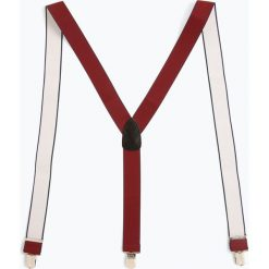 Finshley & Harding London - Szelki męskie, czerwony. Czerwone szelki męskie Finshley & Harding London. Za 129,95 zł.