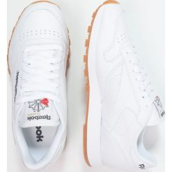 Reebok Classic CLASSIC Tenisówki i Trampki white. Białe tenisówki damskie Reebok Classic, z gumy. Za 369,00 zł.