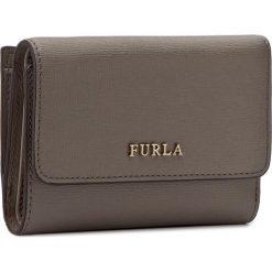 Mały Portfel Damski FURLA - Babylon 872820 P PR76 B30 Sabbia. Szare portfele damskie marki Furla, ze skóry. Za 520,00 zł.
