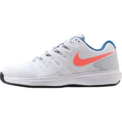 Buty trekkingowe damskie: Nike Performance AIR ZOOM PRESTIGE CLY Obuwie do tenisa Outdoor white/hot lava/pure platinum/blue