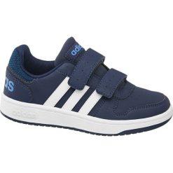Buciki niemowlęce: buty dziecięce adidas Vs Hoops 2.0 adidas granatowe