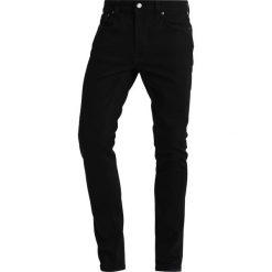 Nudie Jeans LEAN DEAN Jeansy Slim Fit dry ever black. Niebieskie rurki męskie marki Tiffosi. Za 499,00 zł.