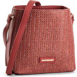 Torebka MONNARI - BAG3300-005 Red. Czerwone listonoszki damskie Monnari, ze skóry ekologicznej. W wyprzedaży za 129,00 zł.