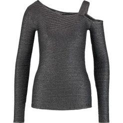Odzież damska: Armani Exchange Bluzka z długim rękawem black/silver